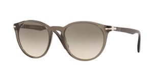 PERSOL PO3152S 906132 Opal Smoke Round Men's 52 mm Sunglasses
