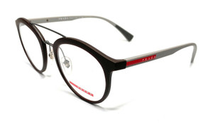 Prada VPS 01H VYY-1O1 Grey Men's Authentic Eyeglasses Frame 50-21