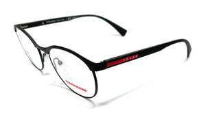 Prada VPS 50I DG0-1O1 Matte Black Men's Authentic Eyeglasses Frame 51-18
