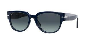 PERSOL PO3231S 1109Q8 Blue Square 54 mm Men's Sunglasses