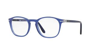 PERSOL PO3007V 1015 Cobalto Square Men's 50 mm Eyeglasses