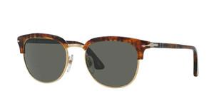 PERSOL PO3105S 108 58 Havana Square Men's Polarized 51 mm Sunglasses