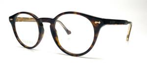 GUCCI GG0738O 002 Havana Demo Lens Unisex Eyeglasses 48 mm