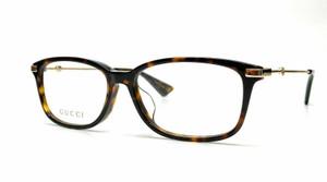 GUCCI GG0759OA 002 Havana Demo Lens Women's Eyeglasses 54 mm