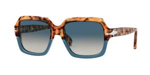 PERSOL PO0581S 112032 Brown Tortoise Square Unisex 54 mm Sunglasses