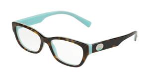 TIFFANY TF2172 8134 Havana Rectangle Women's 52 mm Eyeglasses