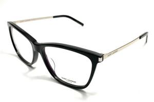 Saint Laurent SL 92 001 Black Women Authentic Eyeglasses Frame 56-15