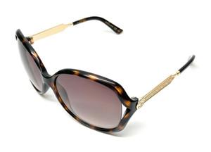 GUCCI GG0076S 003 Havana Women's Authentic Sunglasses 60 mm