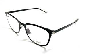 Saint Laurent SL 266 001 Black Unisex Authentic Eyeglasses Frame 52-18
