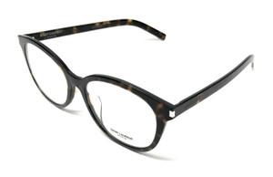 Saint Laurent SL 209/F SLIM 002 Havana Unisex Authentic Eyeglasses Frame 53-17