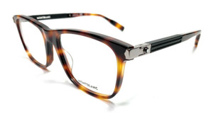Mont Blanc MB0035O 008 Havana Men's Authentic Eyeglasses Frame 57-19