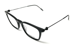 Mont Blanc MB0005O 001 Black Men's Authentic Eyeglasses Frame 52-19