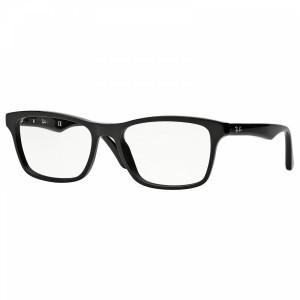 RAY BAN RX5279 2000 Black Square Unisex 53 mm Eyeglasses