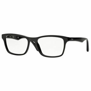 RAY BAN RX5279 2000 Black Square Unisex 55 mm Eyeglasses