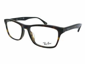 RAY BAN RX5279 2012 Dark Havana Square Unisex 53 mm Eyeglasses