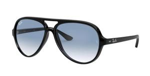 RAY BAN RB4125 601 3F Black Pilot Men's 59 mm Sunglasses