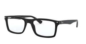 RAY BAN RX5287 2000 Black Rectangle Men's 54 mm Eyeglasses