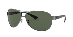 RAY BAN RB3386 004 71 Gunmetal Pilot Men's 67 mm Sunglasses