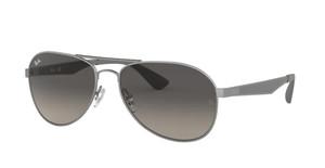 RAY BAN RB3549 029 11 Matte Gunmetal Pilot Unisex 58 mm Sunglasses