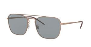 RAY BAN RB3588 9146 1 Rubber Copper Square Men's 55 mm Sunglasses