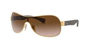 RAY BAN RB3471 001 13 Arista Pilot Men's 32 mm Sunglasses