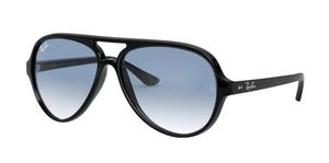 RAY BAN RB4125 601/3F  Black  Pilot Men's 59 mm Sunglasses