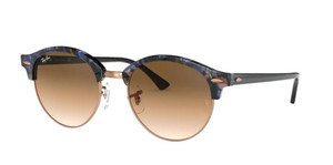 RAY BAN RB4246 125651 Blue Round Unisex 51 mm Sunglasses