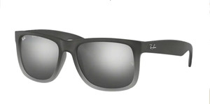 RAY BAN RB4165 852/88 Grey Square Men's 51 mm Sunglasses