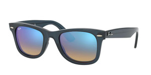 RAY BAN RB4340 623240 Blue Square Unisex 50 mm Sunglasses