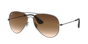 RAY BAN RB3558 913913 Black Pilot Unisex 58 mm Sunglasses