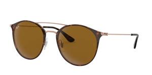 RAY BAN RB3546 9074 Havana Phantos Unisex 49 mm Sunglasses