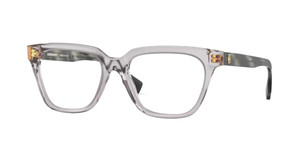 BURBERRY BE2324 3898 Transparent Grey Square Women's 52 mm Eyeglasses