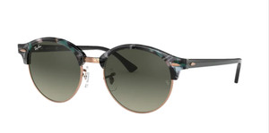 RAY BAN RB4246 125571 Spotted Grey Round Unisex 51 mm Sunglasses