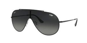 RAY BAN RB3597 002 11 Black Pilot Men's 33 mm Sunglasses