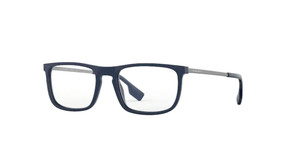 BURBERRY BE2288 3770 Blue Rectangle Men's 55 mm Eyeglasses