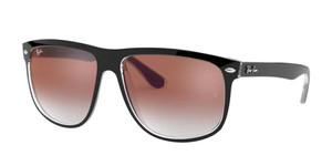 RAY BAN RB4147 6039V0 Black Square Men's 56 mm Sunglasses
