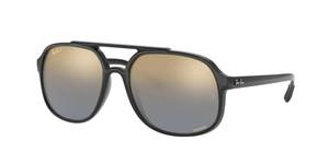 RAY BAN RB4312CH 601 J0 Black Square Men's 57 mm Polarized Sunglasses