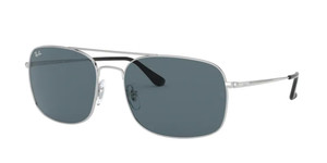 RAY BAN RB3611 003 R5 Silver Square Men's 60 mm Sunglasses