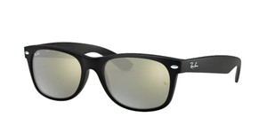 RAY BAN RB2132 622 30 Rubber Black Square Unisex 52 mm Sunglasses