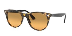 RAY BAN RB2185 1248AC Yellow Havana Round 52 mm Sunglasses