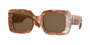 BURBERRY BE4327 391573 Brown Square Women's 51 mm Sunglasses