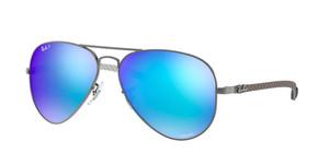 RAY BAN RB8317CH 029 A1 Matte Gunmetal Pilot Unisex 58 mm Polarized Sunglasses