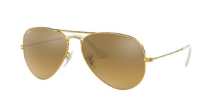 RAY BAN RB3025 001 3K Arista Aviator Unisex 58 mm Sunglasses