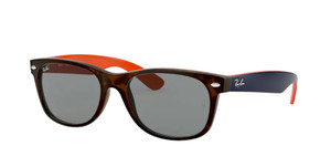 RAY BAN RB2132 6180R5 Matte Havana Square Unisex 55 mm Sunglasses