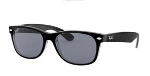 RAY BAN RB2132 6398Y5 Black Square Unisex 52 mm Sunglasses