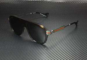 GUCCI GG0587S 002 Havana Square Men's 57 mm Polarized Sunglasses