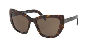 PRADA SPR 08V 2AU-8C1 Havana Cat Eye Women's 55 mm Sunglasses