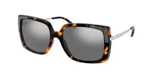 MICHAEL KORS MK2131 33336V Dark Tortoise Square Women's 56 mm Sunglasses