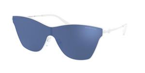 MICHAEL KORS MK1063 199955 White Rectangle Women's 44 mm Sunglasses