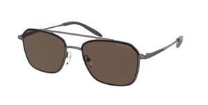 MICHAEL KORS MK1086 144573 Matte Gunmetal Pilot Men's 57 mm Sunglasses